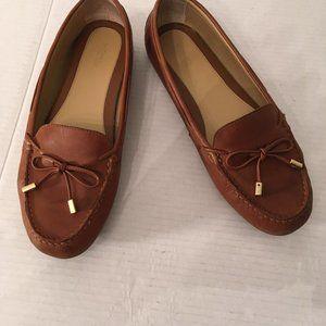 Ladies Brown Michael Kors Brown Loafers 11M